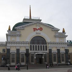 Железнодорожные вокзалы Верхней Сысерти